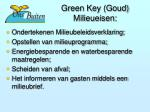 green key goud milieueisen
