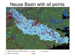 neuse basin with all points