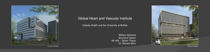 global heart and vascular institute kaleida health and the university at buffalo n.