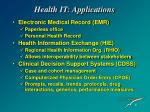 health it applications