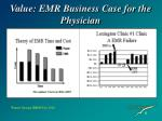 value emr business case for the physician2