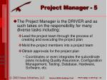 project manager 5