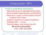 conclusion vip1