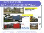 the kindergarten kita plappersnut in wismar