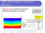 vip2 influence of thermal bridges