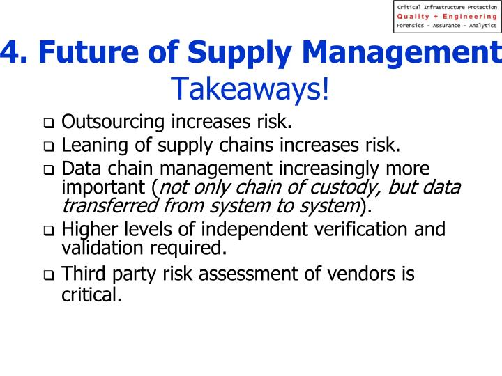 4. Future of Supply Management