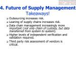 4 future of supply management takeaways