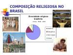 composi o religiosa no brasil