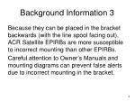 background information 3