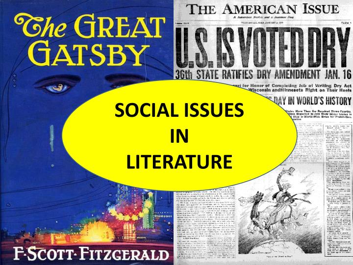 social issues in literature n.