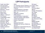 ldp participants