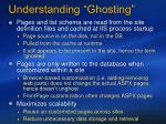 understanding ghosting