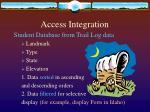 access integration