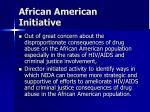 african american initiative