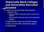 historically black colleges and universities recruited scientist1