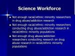 science workforce