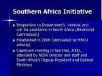 southern africa initiative