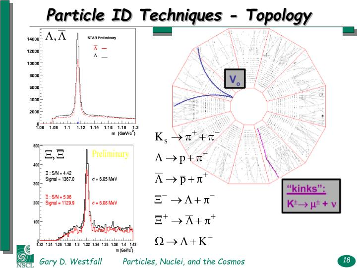 Particle ID Techniques - Topology