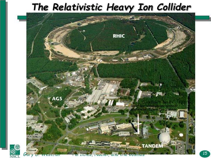 The Relativistic Heavy Ion Collider