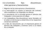 3 2 1 contratos fijos discontinuos interrupciones y llamamientos