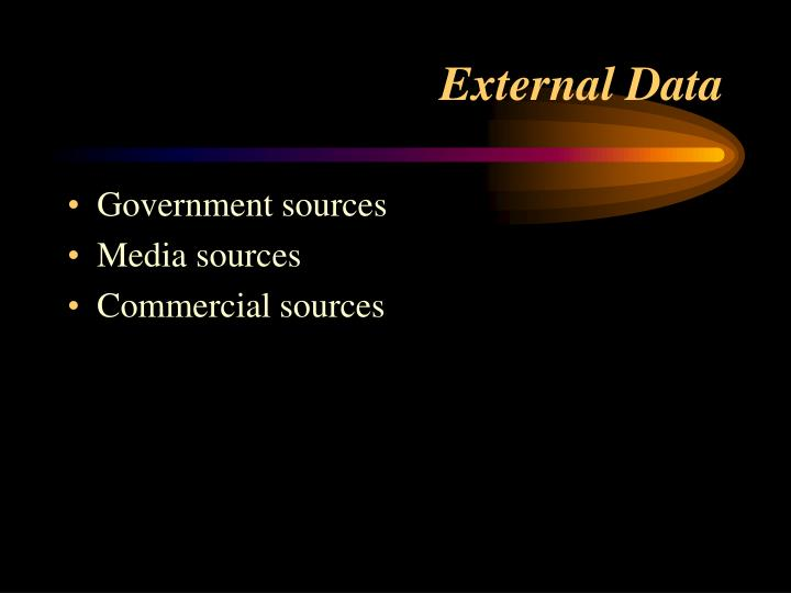 Government sources