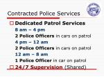 contracted police services1