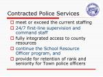 contracted police services3