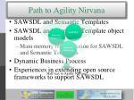 path to agility nirvana