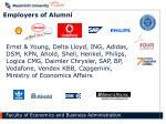 employers of alumni
