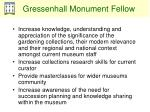 gressenhall monument fellow