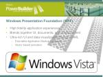 windows presentation foundation wpf