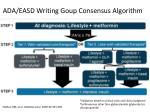 ada easd writing goup consensus algorithm