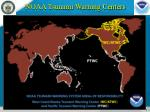 noaa tsunami warning centers
