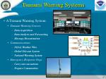 tsunami warning systems