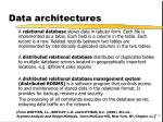 data architectures1