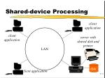 shared device processing
