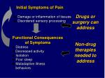 drugs or surgery can address non drug therapies needed to address