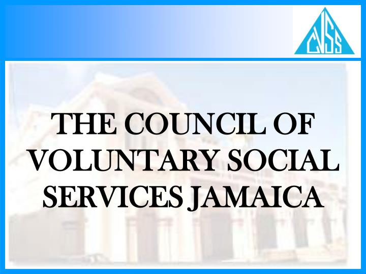 the council of voluntary social services jamaica n.