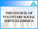 the council of voluntary social services jamaica