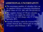 additional uncertainty1