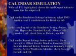 calendar simulation3
