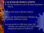 calendar simulation4