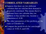 correlated variables1