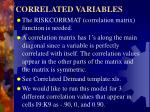 correlated variables2