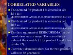 correlated variables5