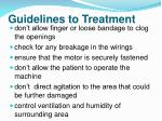 guidelines to treatment1