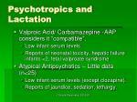 psychotropics and lactation1