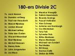 180 ers divisie 2c