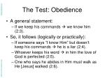 the test obedience1