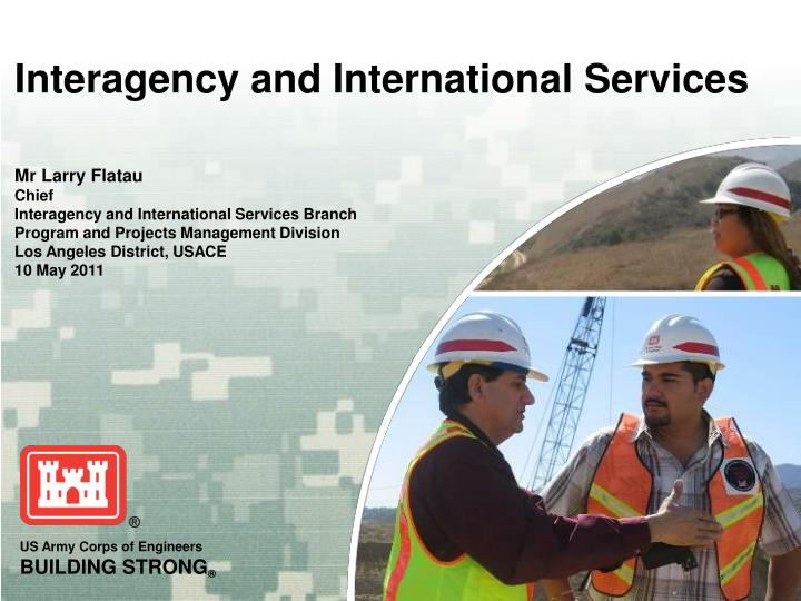 interagency and international services n.